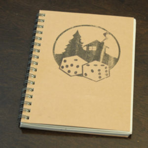 the cabin con notebook of epic tales and adventure