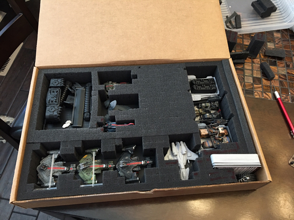 Battlefoam pimp my board game for Board game storage solutions