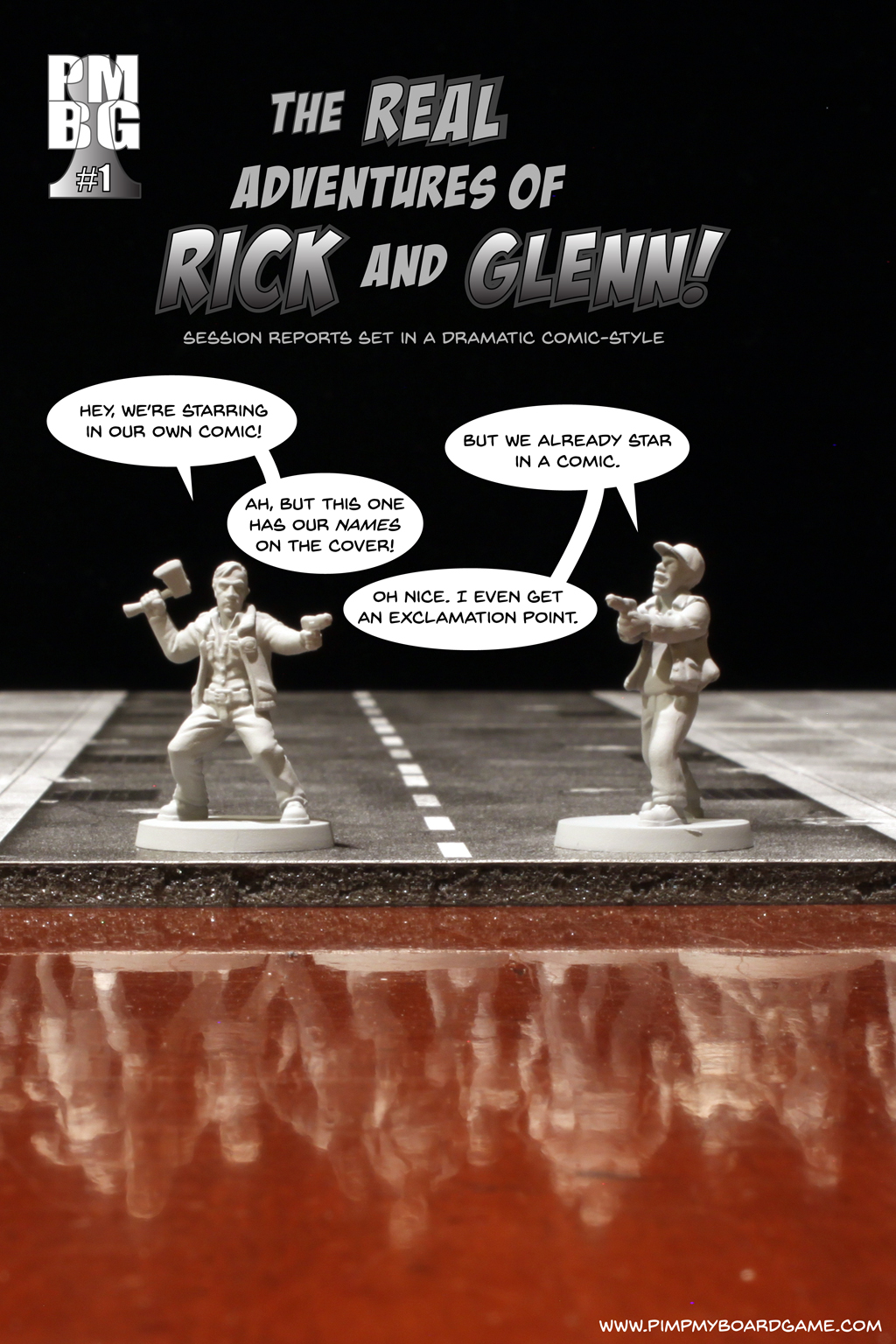 The Real Adventures of Rick and Glenn! Chapter 1 - cover