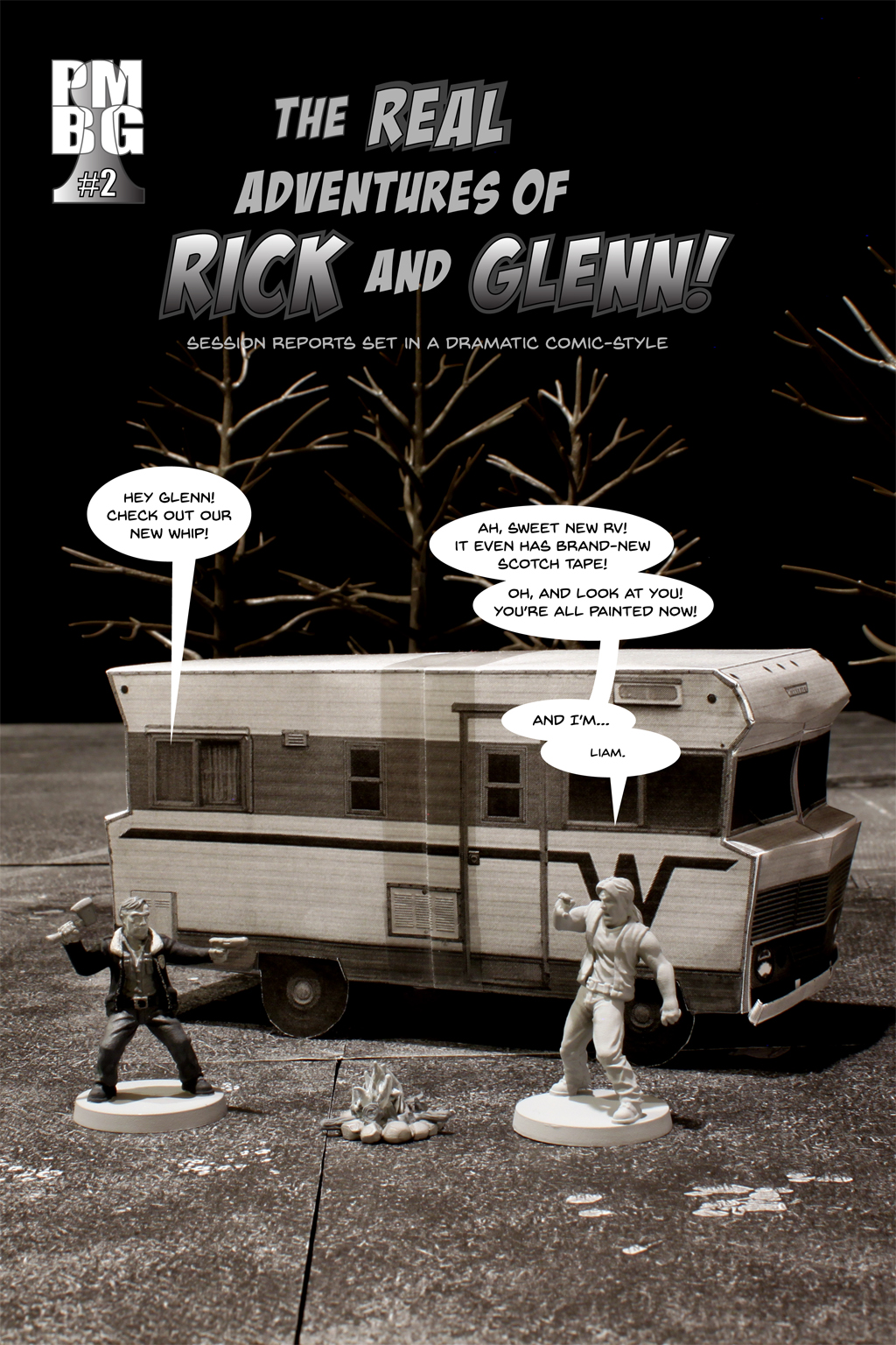 The Real Adventures of Rick and Glenn! Chapter 2 - cover