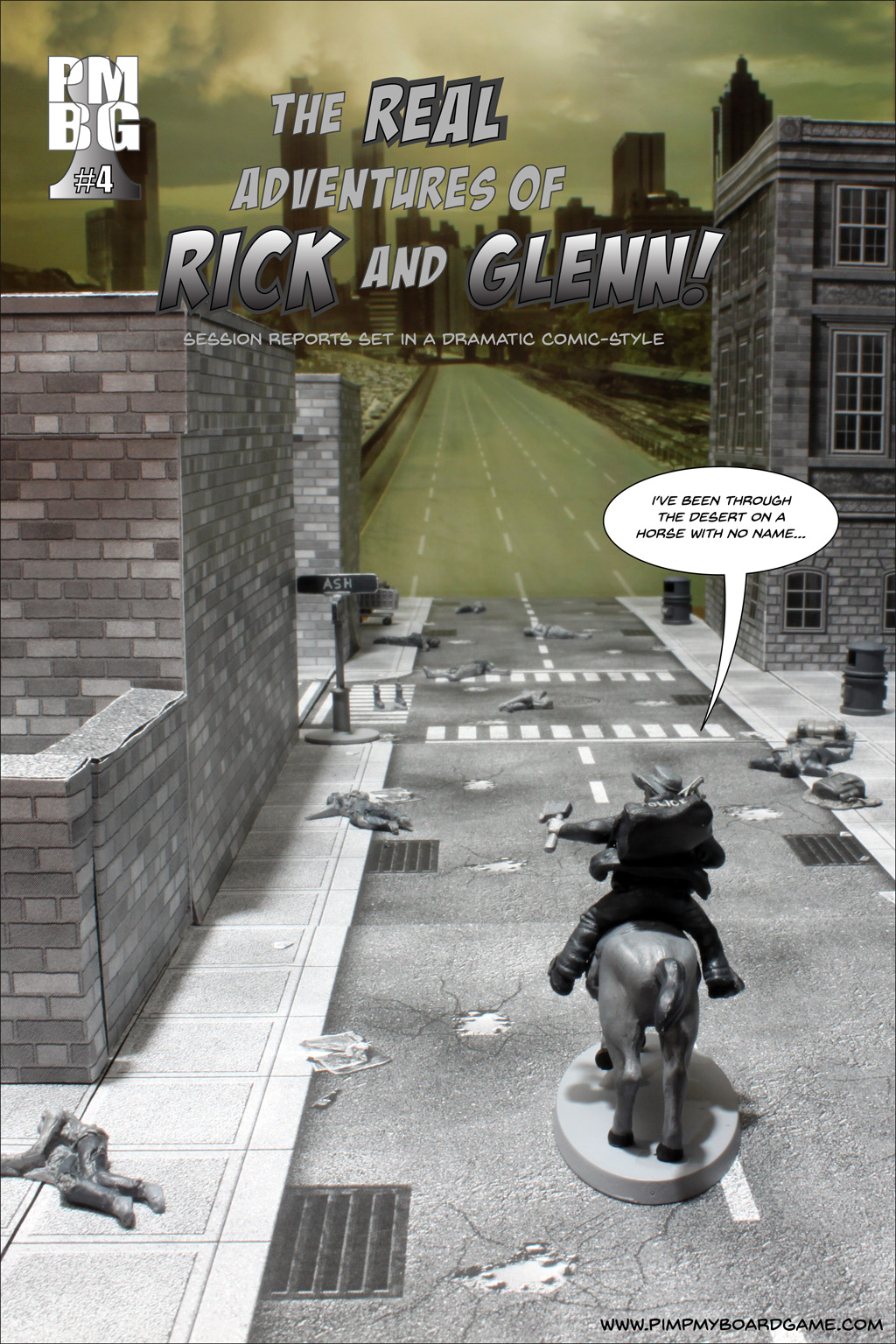 The Real Adventures of Rick and Glenn! Chapter 4 - cover