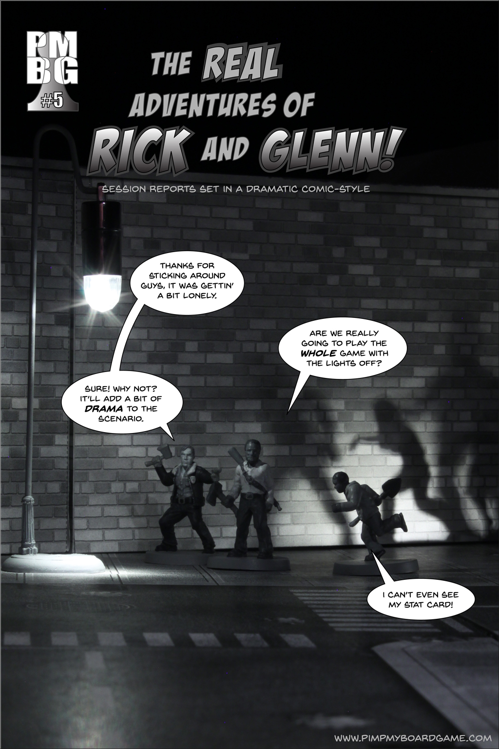The Real Adventures of Rick and Glenn! Chapter 5 - cover