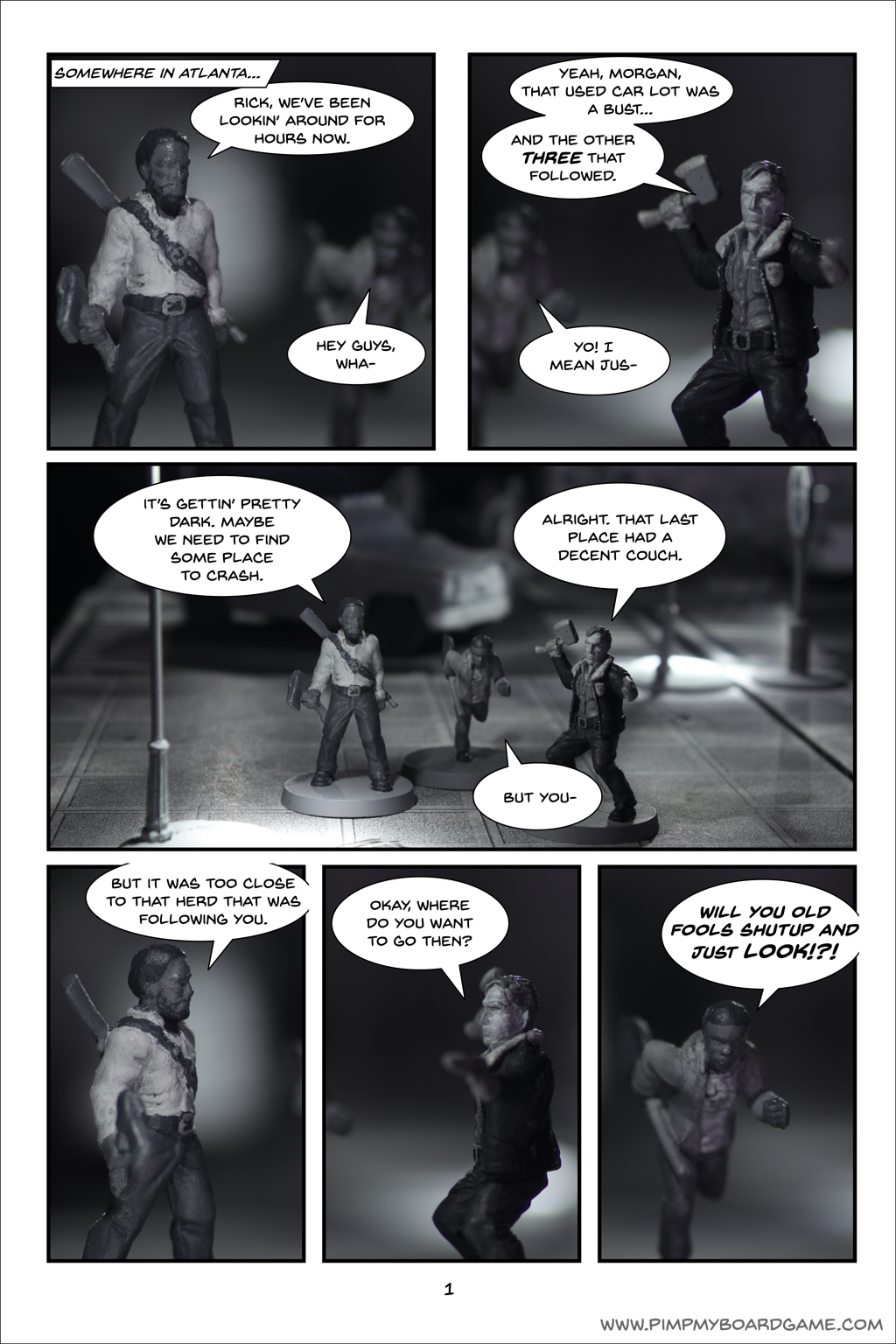 The Real Adventures of Rick and Glenn! Chapter 5 - 1